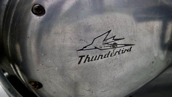 RESERVE LOWERED! -1957 Pre-Unit Triumph Thunderbird For Sale (picture 39 of 55)