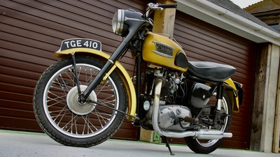 RESERVE LOWERED! -1957 Pre-Unit Triumph Thunderbird