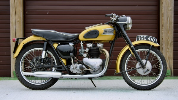 RESERVE LOWERED! -1957 Pre-Unit Triumph Thunderbird For Sale (picture 4 of 55)