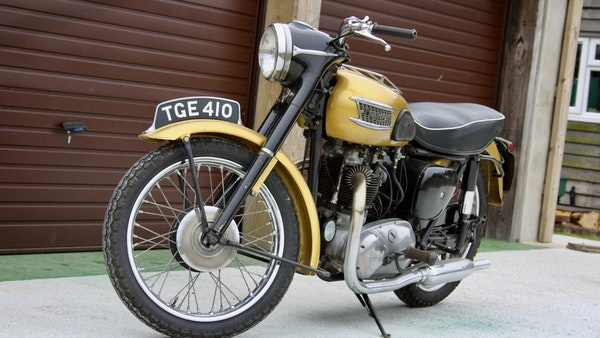 RESERVE LOWERED! -1957 Pre-Unit Triumph Thunderbird For Sale (picture 11 of 55)