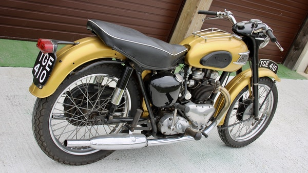 RESERVE LOWERED! -1957 Pre-Unit Triumph Thunderbird For Sale (picture 7 of 55)