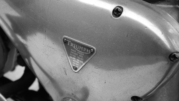 RESERVE LOWERED! -1957 Pre-Unit Triumph Thunderbird For Sale (picture 42 of 55)