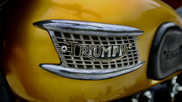 RESERVE LOWERED! -1957 Pre-Unit Triumph Thunderbird For Sale (picture 24 of 55)