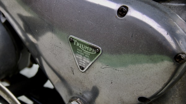 RESERVE LOWERED! -1957 Pre-Unit Triumph Thunderbird For Sale (picture 38 of 55)