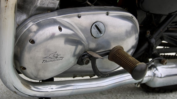 RESERVE LOWERED! -1957 Pre-Unit Triumph Thunderbird For Sale (picture 40 of 55)