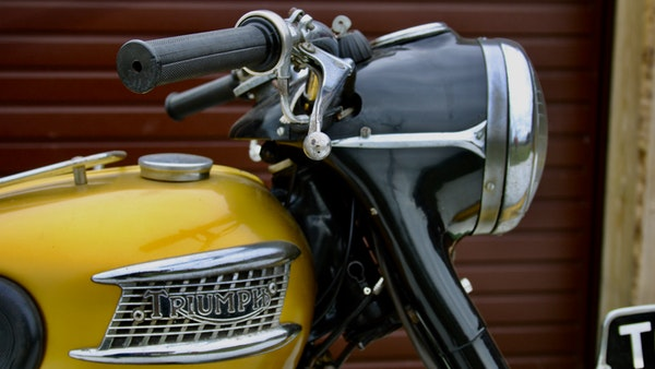 RESERVE LOWERED! -1957 Pre-Unit Triumph Thunderbird For Sale (picture 18 of 55)