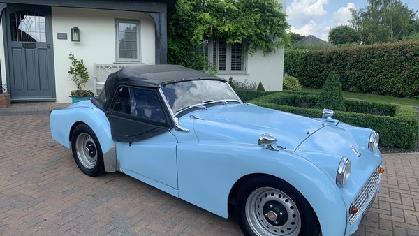RESERVE LOWERED - 1958 Triumph TR3 A For Sale (picture 3 of 34)