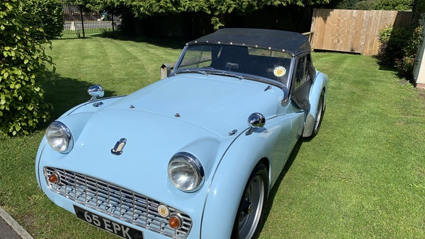 RESERVE LOWERED - 1958 Triumph TR3 A For Sale (picture 10 of 34)