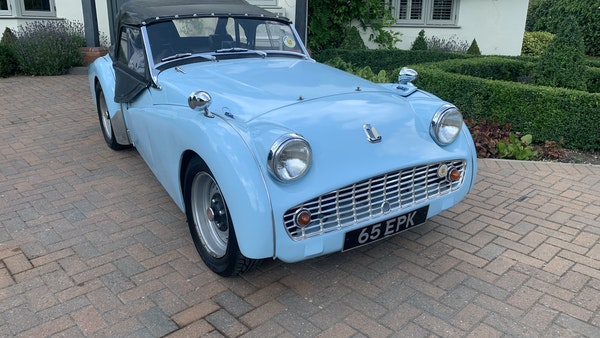RESERVE LOWERED - 1958 Triumph TR3 A For Sale (picture 11 of 34)