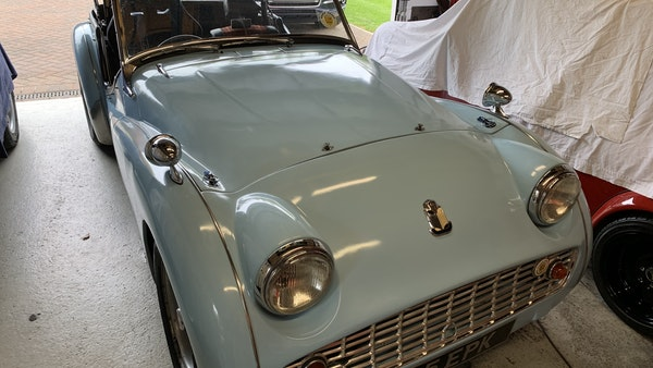 RESERVE LOWERED - 1958 Triumph TR3 A For Sale (picture 15 of 34)