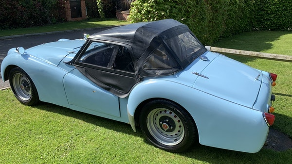 RESERVE LOWERED - 1958 Triumph TR3 A For Sale (picture 12 of 34)