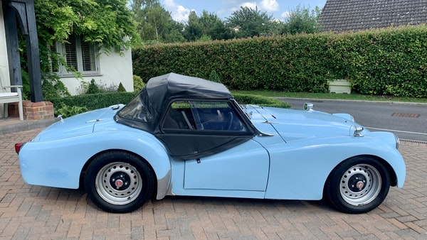 RESERVE LOWERED - 1958 Triumph TR3 A For Sale (picture 5 of 34)