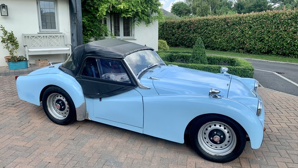 RESERVE LOWERED - 1958 Triumph TR3 A For Sale (picture 4 of 34)