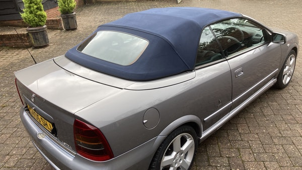 2005 Vauxhall Astra Bertone Convertible For Sale (picture 17 of 87)