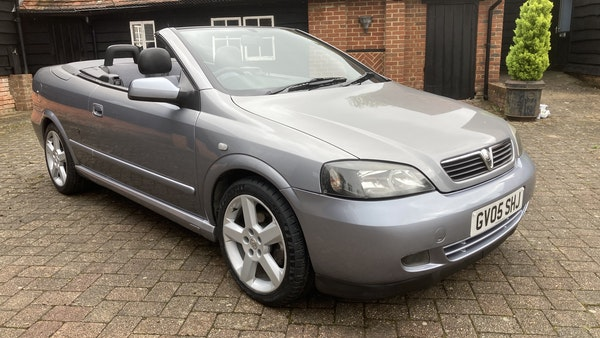 2005 Vauxhall Astra Bertone Convertible For Sale (picture 8 of 87)