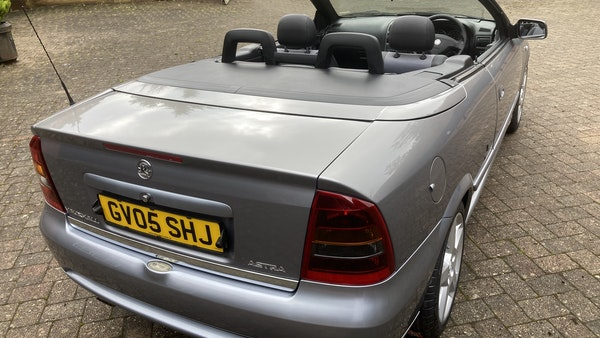 2005 Vauxhall Astra Bertone Convertible For Sale (picture 14 of 87)