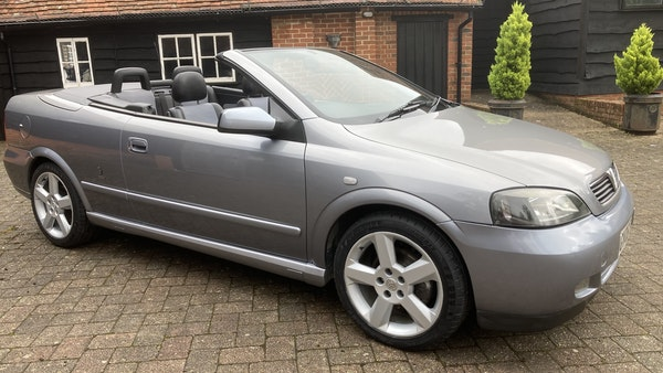 2005 Vauxhall Astra Bertone Convertible For Sale (picture 1 of 87)