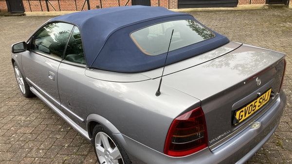 2005 Vauxhall Astra Bertone Convertible For Sale (picture 18 of 87)