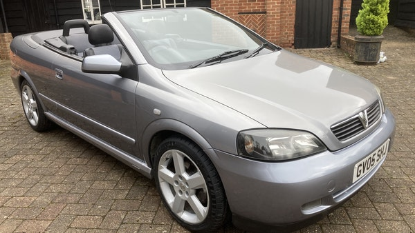 2005 Vauxhall Astra Bertone Convertible For Sale (picture 13 of 87)
