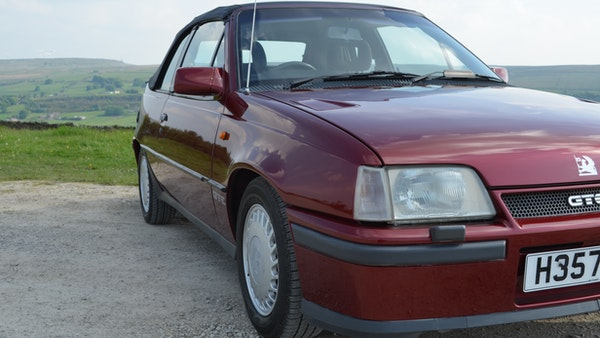 RESERVE LOWERED - 1991 Vauxhall Astra GTE Bertone For Sale (picture 3 of 87)