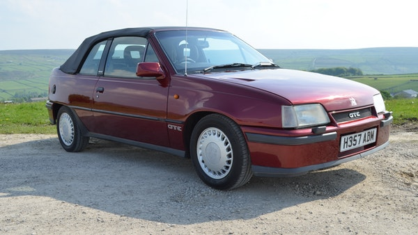 RESERVE LOWERED - 1991 Vauxhall Astra GTE Bertone For Sale (picture 4 of 87)