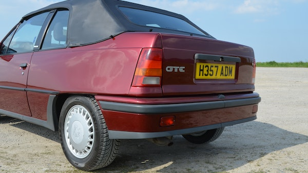 RESERVE LOWERED - 1991 Vauxhall Astra GTE Bertone For Sale (picture 61 of 87)