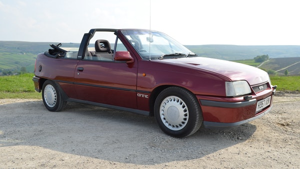 RESERVE LOWERED - 1991 Vauxhall Astra GTE Bertone For Sale (picture 28 of 87)