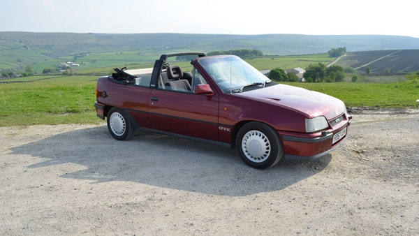 RESERVE LOWERED - 1991 Vauxhall Astra GTE Bertone For Sale (picture 32 of 87)
