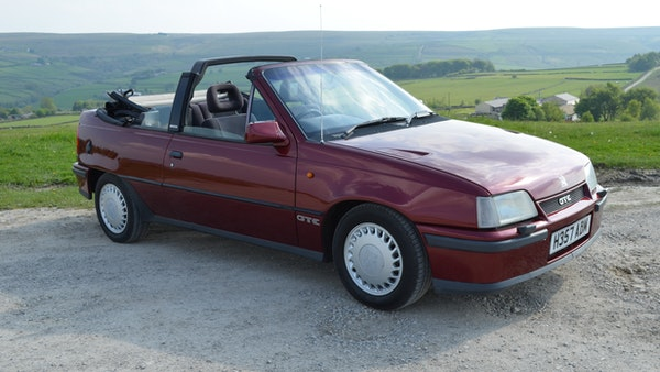 RESERVE LOWERED - 1991 Vauxhall Astra GTE Bertone For Sale (picture 20 of 87)