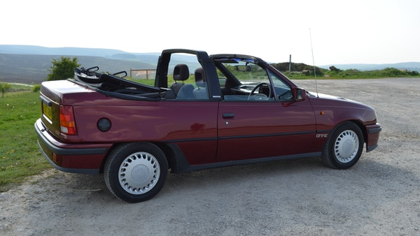 RESERVE LOWERED - 1991 Vauxhall Astra GTE Bertone For Sale (picture 30 of 87)