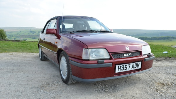 RESERVE LOWERED - 1991 Vauxhall Astra GTE Bertone For Sale (picture 15 of 87)