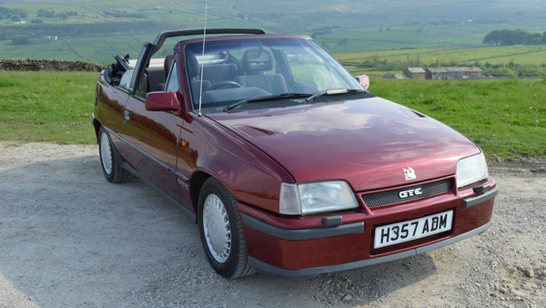 RESERVE LOWERED - 1991 Vauxhall Astra GTE Bertone For Sale (picture 23 of 87)