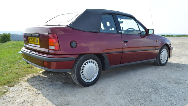 RESERVE LOWERED - 1991 Vauxhall Astra GTE Bertone For Sale (picture 17 of 87)