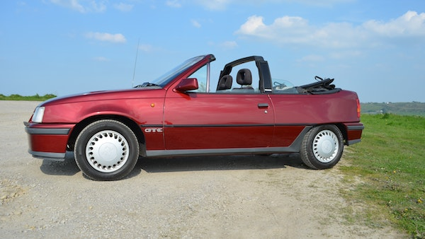 RESERVE LOWERED - 1991 Vauxhall Astra GTE Bertone For Sale (picture 25 of 87)