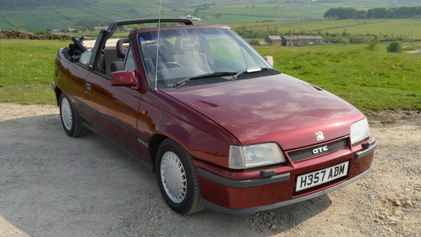 RESERVE LOWERED - 1991 Vauxhall Astra GTE Bertone For Sale (picture 22 of 87)