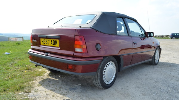 RESERVE LOWERED - 1991 Vauxhall Astra GTE Bertone For Sale (picture 12 of 87)