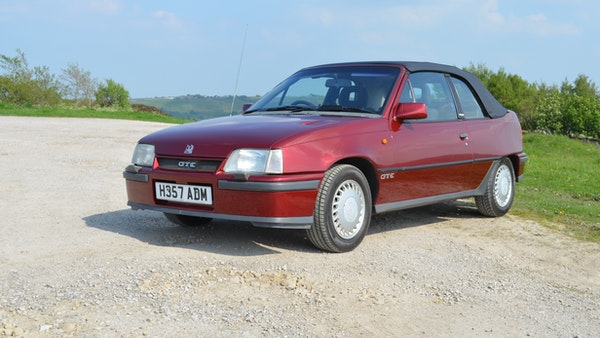 RESERVE LOWERED - 1991 Vauxhall Astra GTE Bertone For Sale (picture 5 of 87)