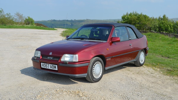 RESERVE LOWERED - 1991 Vauxhall Astra GTE Bertone For Sale (picture 1 of 87)