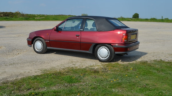 RESERVE LOWERED - 1991 Vauxhall Astra GTE Bertone For Sale (picture 7 of 87)