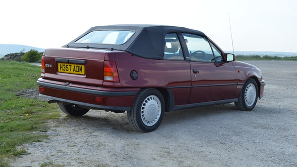 RESERVE LOWERED - 1991 Vauxhall Astra GTE Bertone For Sale (picture 10 of 87)