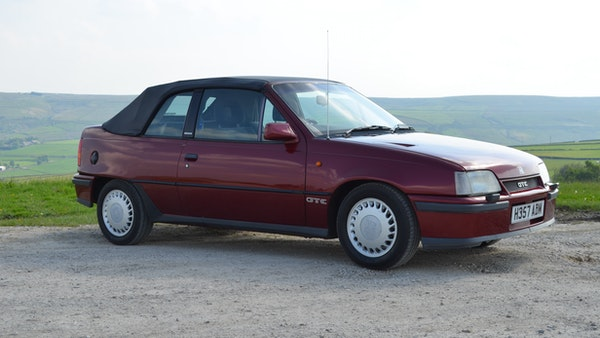 RESERVE LOWERED - 1991 Vauxhall Astra GTE Bertone For Sale (picture 14 of 87)