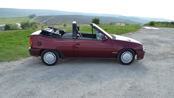 RESERVE LOWERED - 1991 Vauxhall Astra GTE Bertone For Sale (picture 27 of 87)