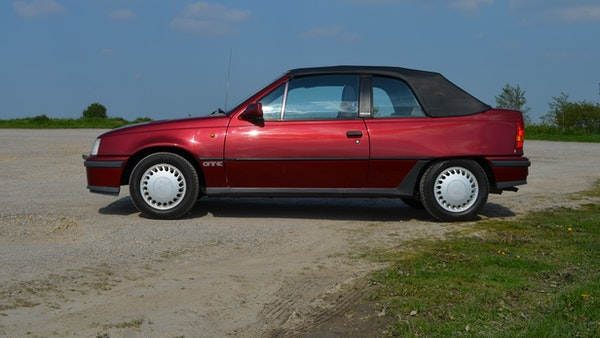 RESERVE LOWERED - 1991 Vauxhall Astra GTE Bertone For Sale (picture 6 of 87)