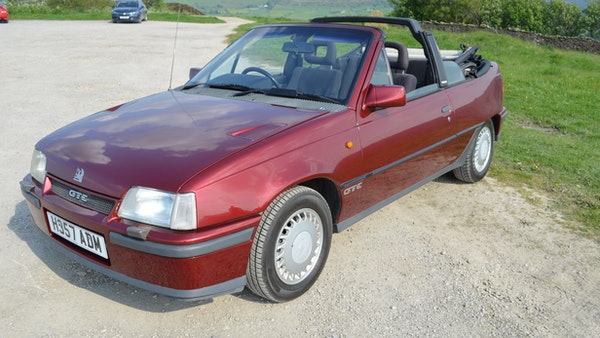 RESERVE LOWERED - 1991 Vauxhall Astra GTE Bertone For Sale (picture 24 of 87)