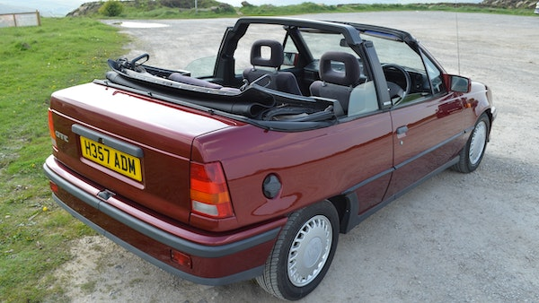 RESERVE LOWERED - 1991 Vauxhall Astra GTE Bertone For Sale (picture 26 of 87)
