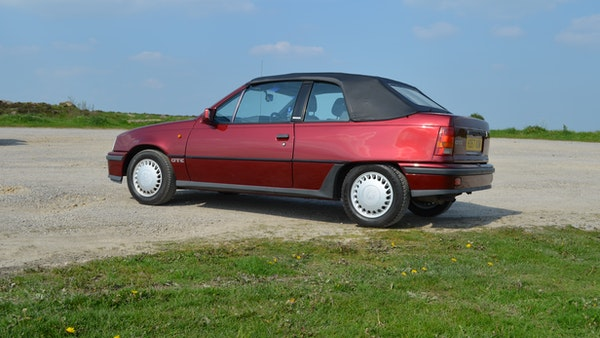 RESERVE LOWERED - 1991 Vauxhall Astra GTE Bertone For Sale (picture 8 of 87)