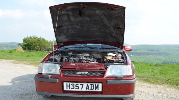 RESERVE LOWERED - 1991 Vauxhall Astra GTE Bertone For Sale (picture 74 of 87)