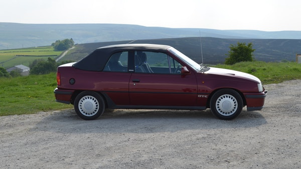 RESERVE LOWERED - 1991 Vauxhall Astra GTE Bertone For Sale (picture 13 of 87)