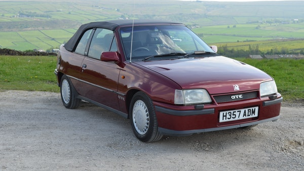 RESERVE LOWERED - 1991 Vauxhall Astra GTE Bertone For Sale (picture 16 of 87)