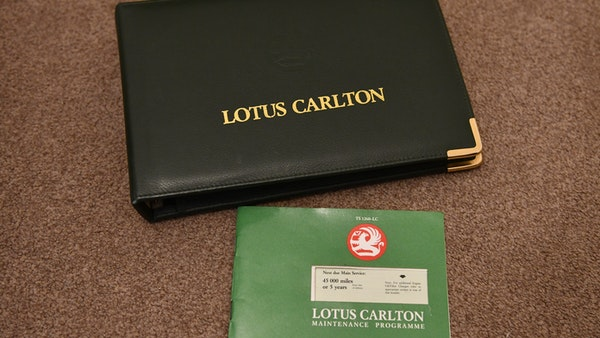 1991 Lotus Carlton For Sale (picture 112 of 113)